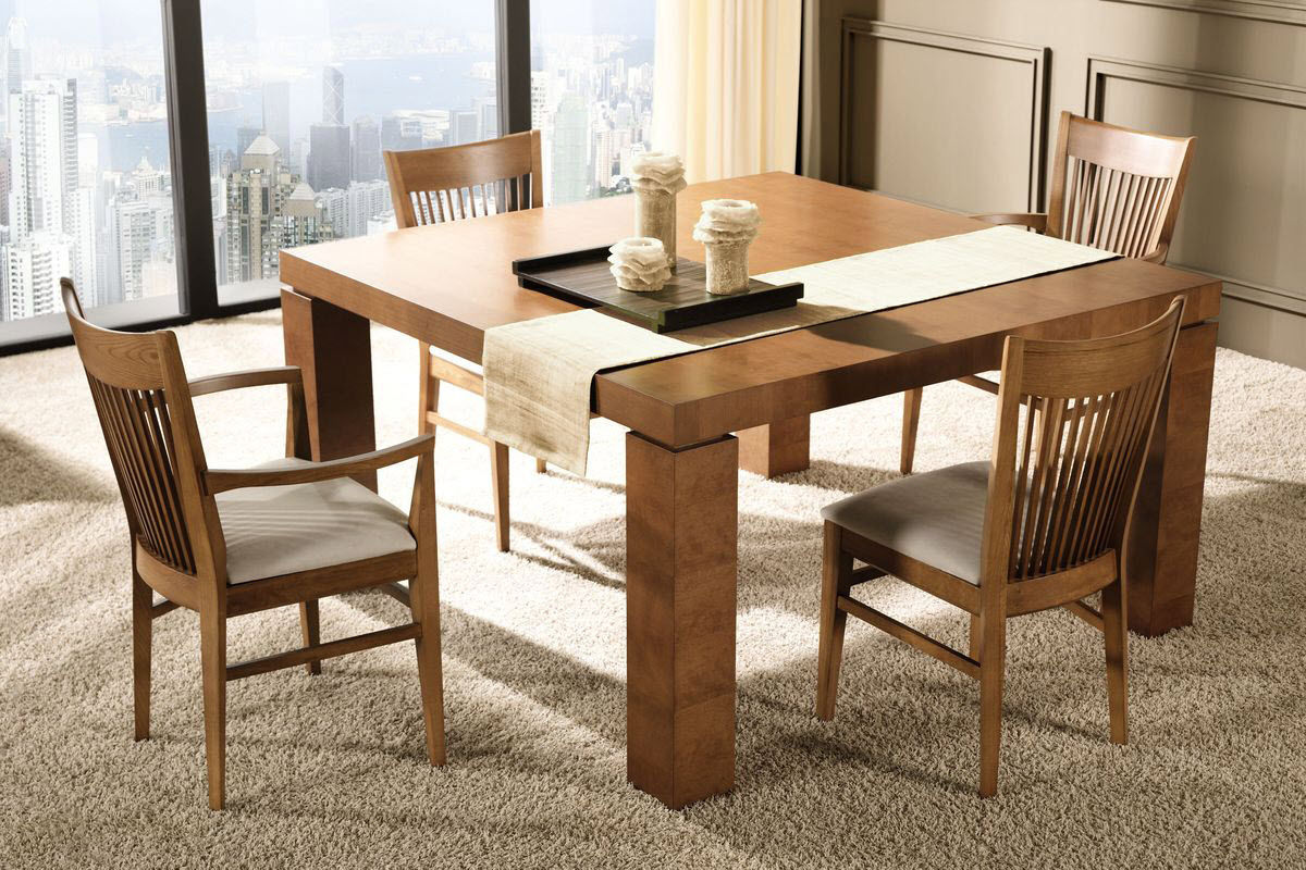 Dining Tables Beautiful Dining Room Tables Oak U Wooden  : Small Solid Wood Dining Table from www.lagenstore.com size 1200 x 800 jpeg 231kB