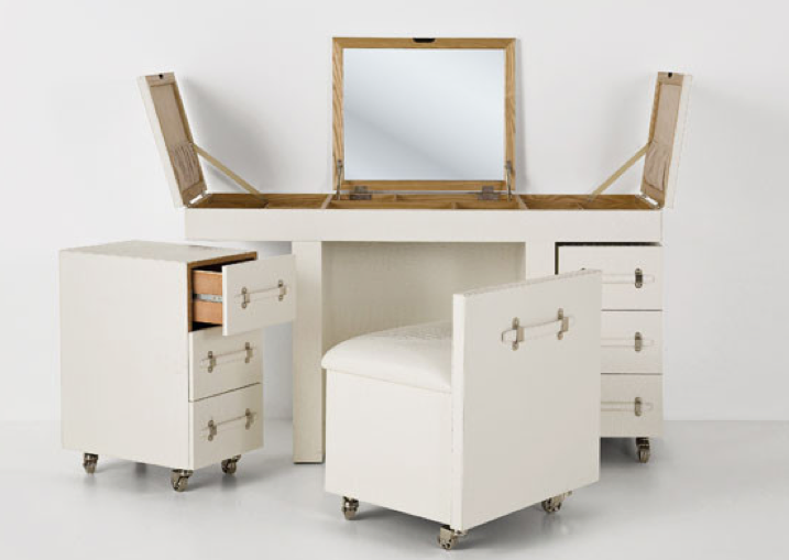 Fold Up Vanity Table Ideas Dressing With Down Mirror